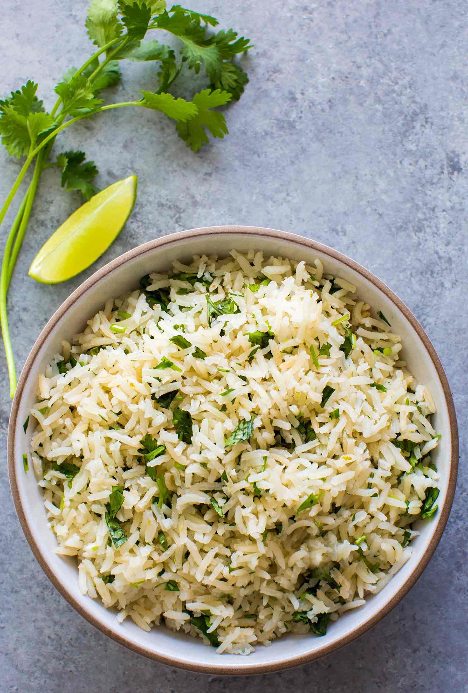 Delicious & Zesty Cilantro Lime Rice Recipe