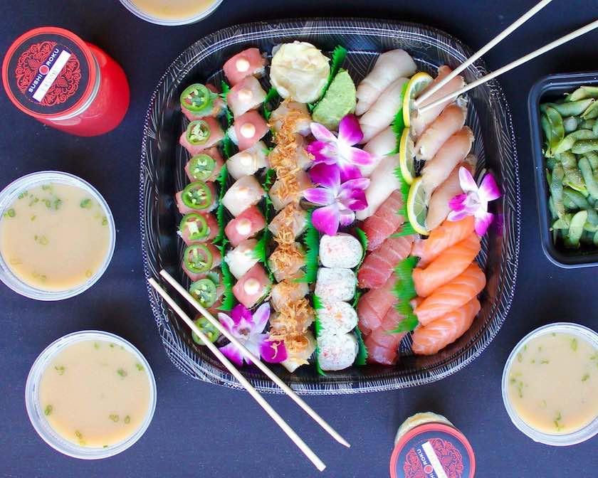 sushi roku family dinner