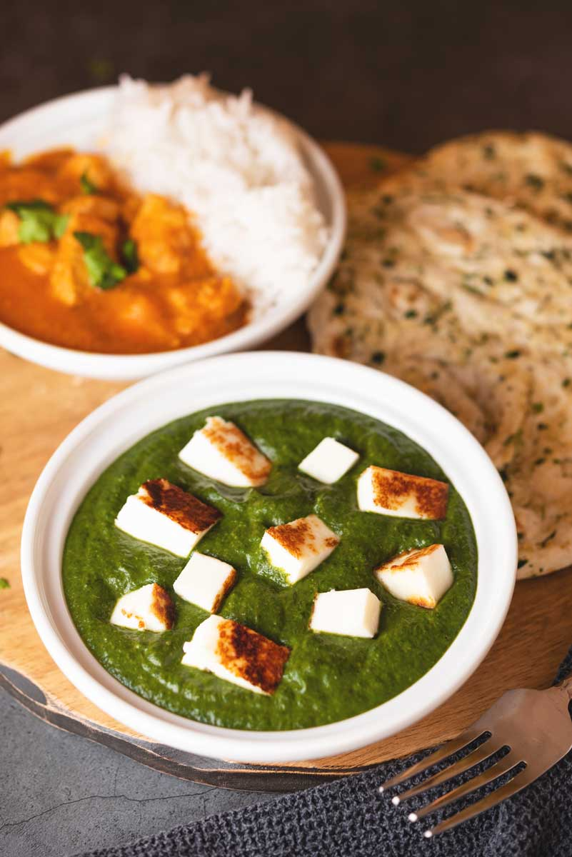 Easy Traditional Indian Saag Paneer Recipe