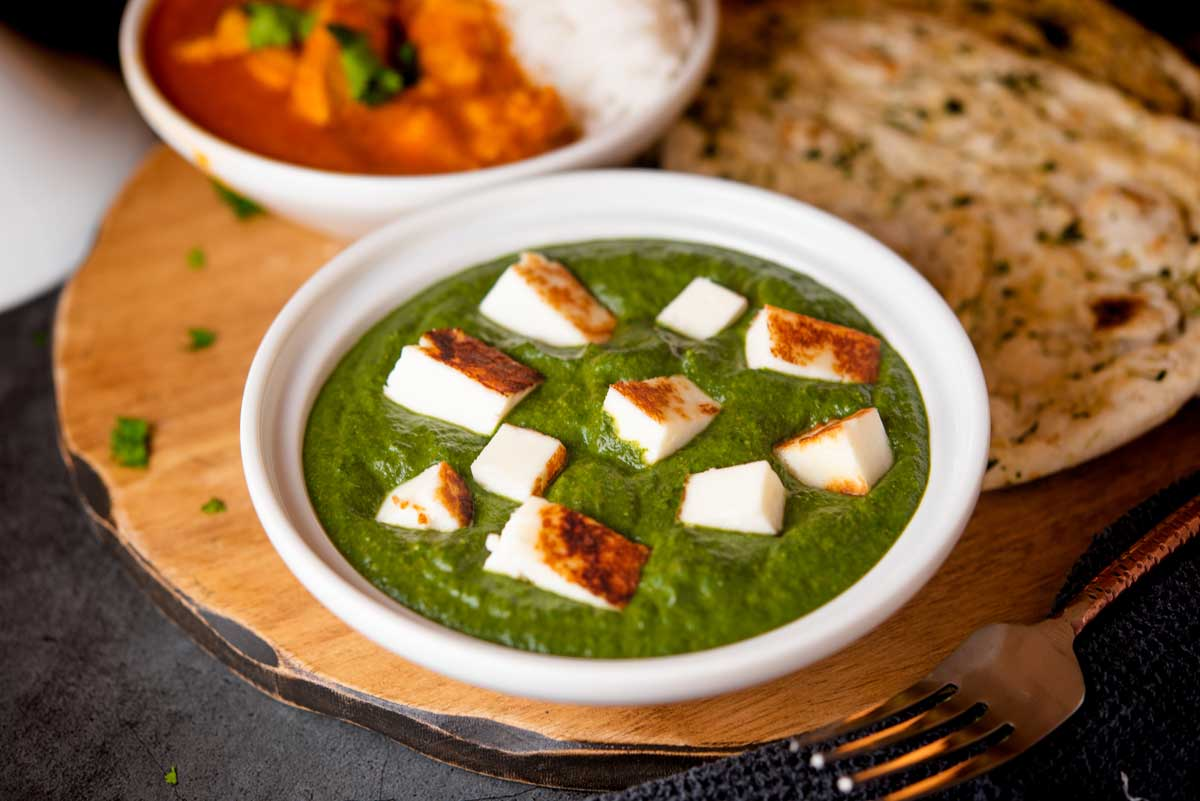 Easy Traditional Indian Saag Paneer Recipe Cuisine And Travel