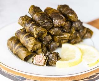The Best Lamb Stuffed Grape Leaves Recipe With Greek Lemon Sauce 1