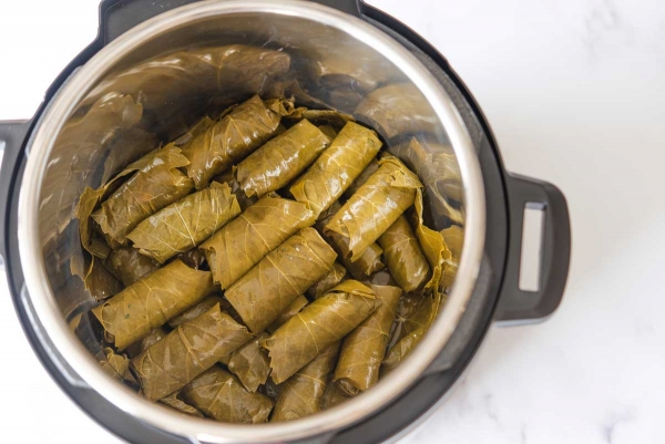 Stuffed-grape-leaves-Instant-Pot