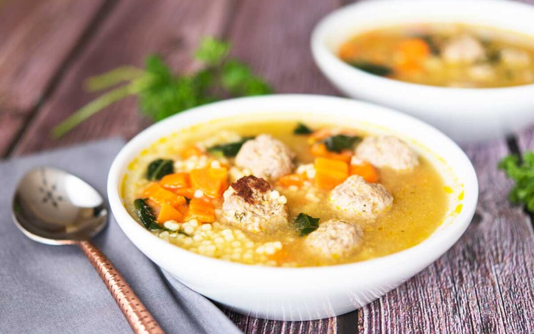 This Easy Italian Wedding Soup Recipe is a Marriage of Delicious Flavors