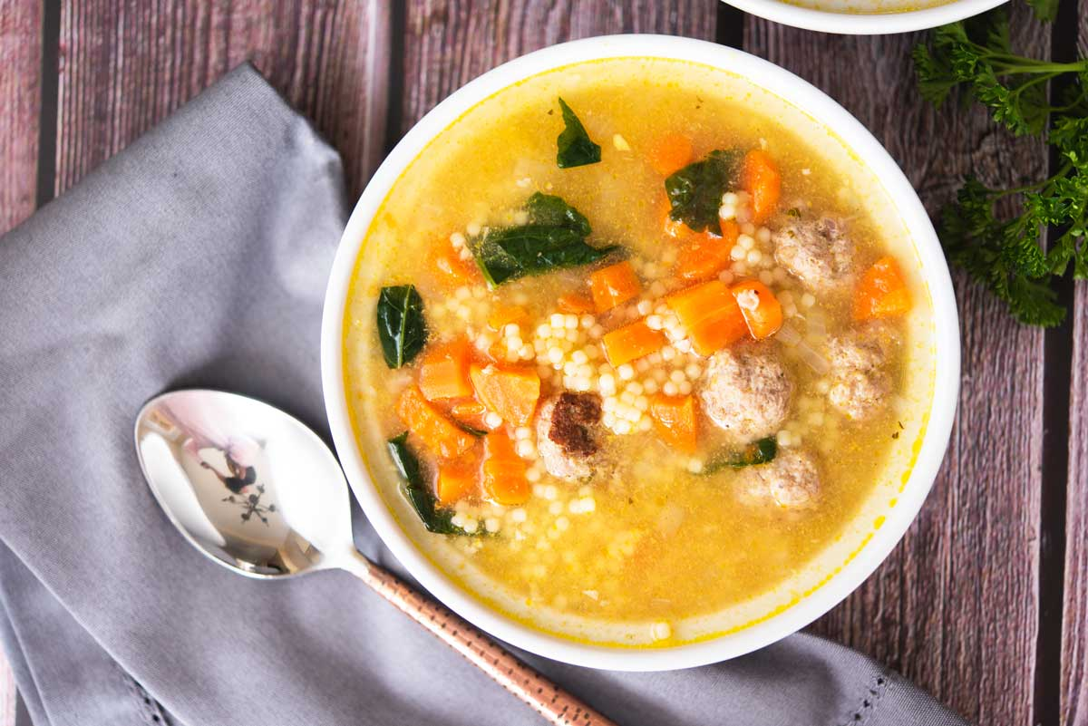 Easy-Italian-Wedding-Soup-Recipe
