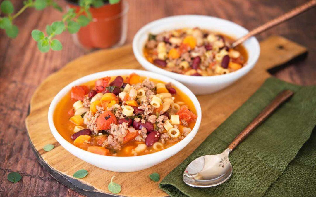 Enjoy This Pasta e Fagioli Recipe Inspired by Olive Garden