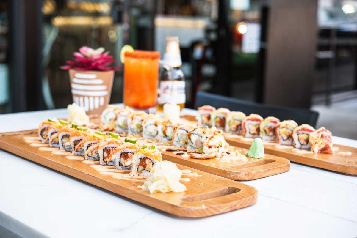 Barra-Sushi-Rolls