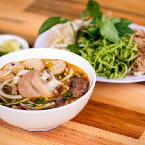 Delicious Traditional Vietnamese Hue Beef Noodle Soup Recipe