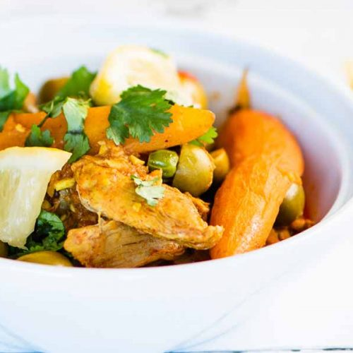 The Best Moroccan Lemon Chicken Recipe for the Instant Pot or Slow Cooker