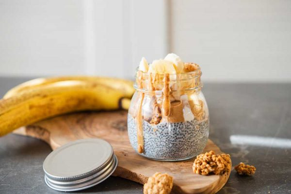 Banana-Chai-Seed-Pudding-Peanut-Butter-Parfait