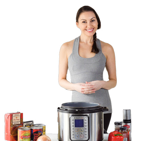 sondra-cooking with instant pot