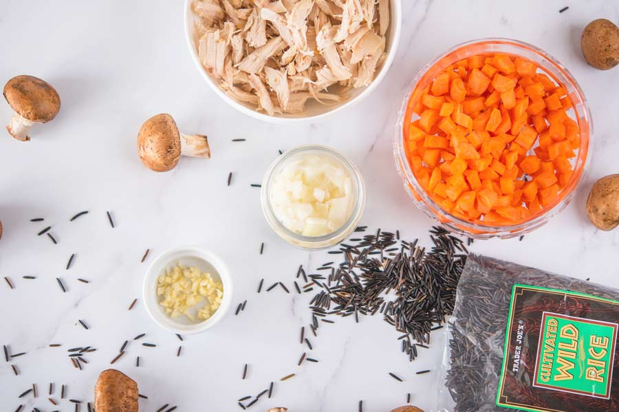 Chicken-and-Wild-Rice-Soup-Ingredients