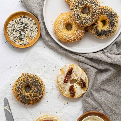 Easy Keto & Gluten Free Bagel Recipe (No Yeast)