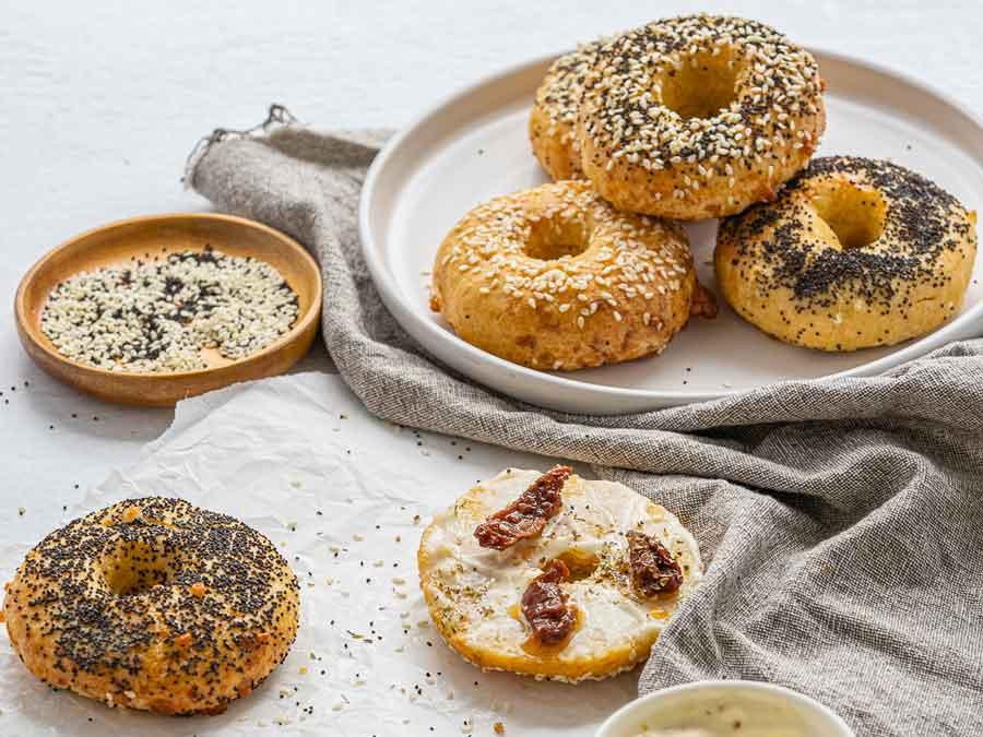 gluten free bagel recipe