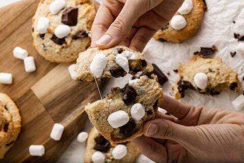 smore cookie breaking apart