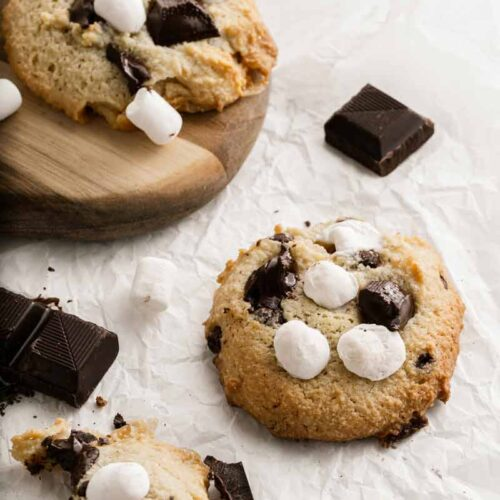 Delicious Guilt-Free S'mores Cookies Recipe (Gluten-free)