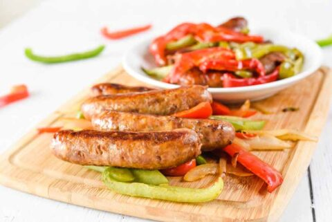 Instant Pot Sausage and Peppers