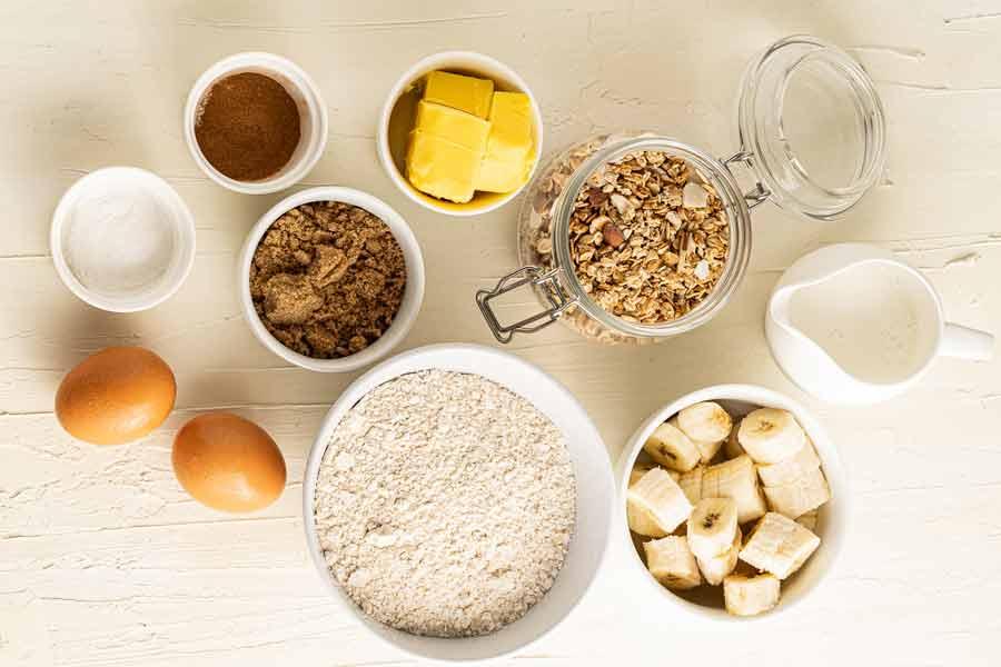 banana-muffins-ingredients