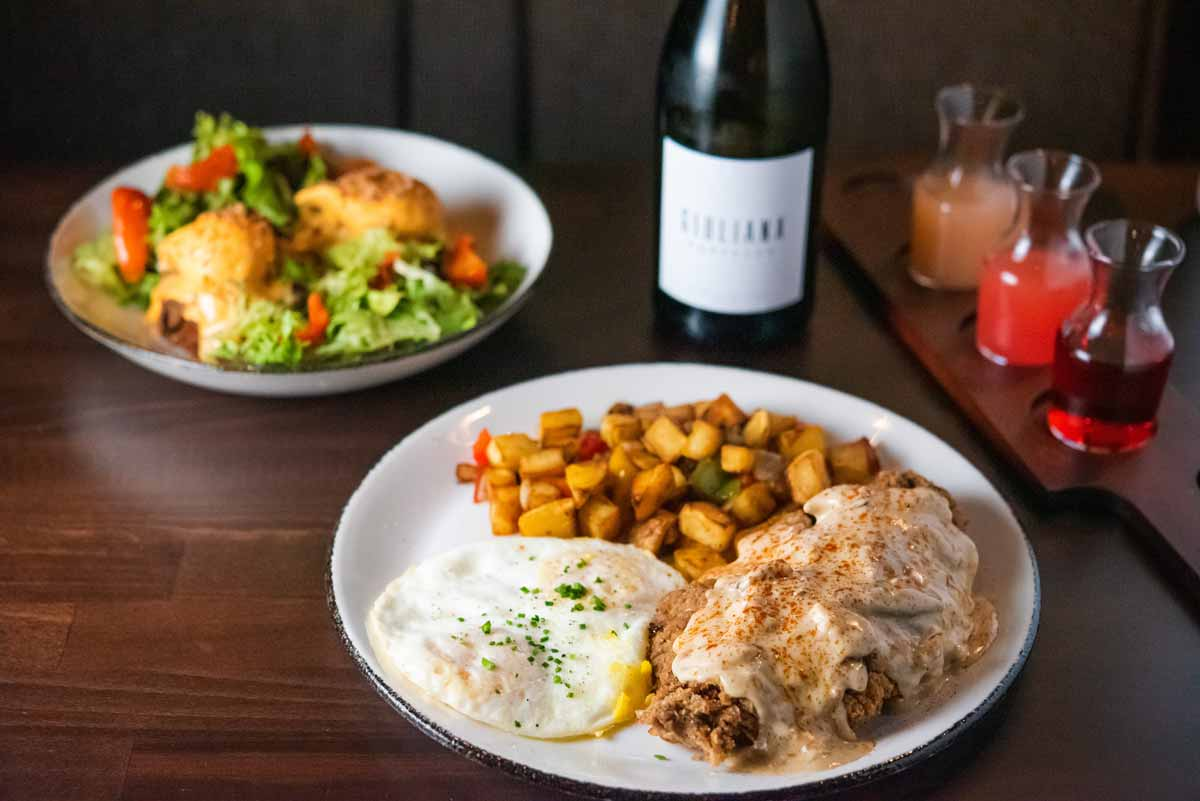 The Hideaway in Long Beach Offers a Classic Yet Creative Brunch