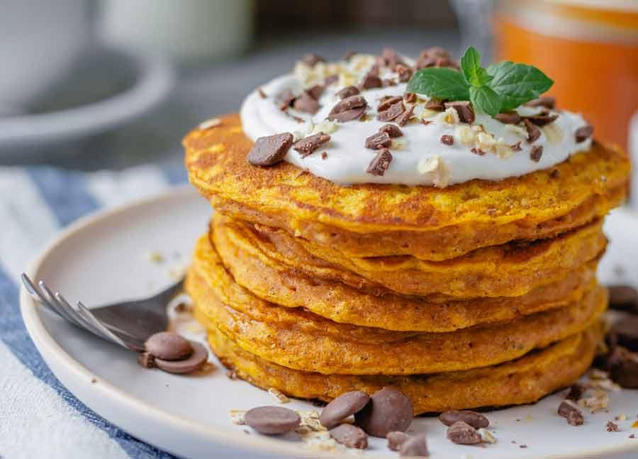 Pumpkin-Pancakes-healthy