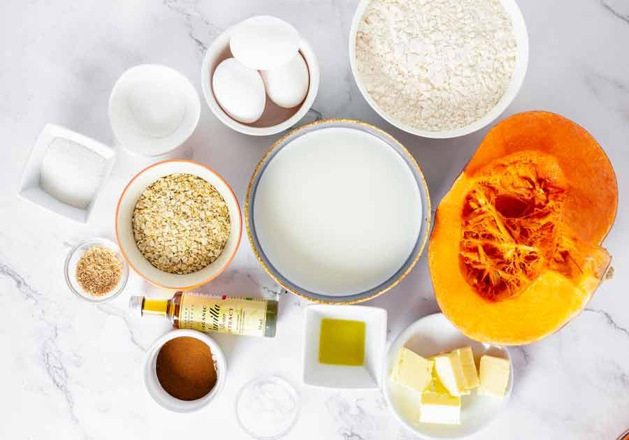 Pumpkin-Pancakes-ingredients