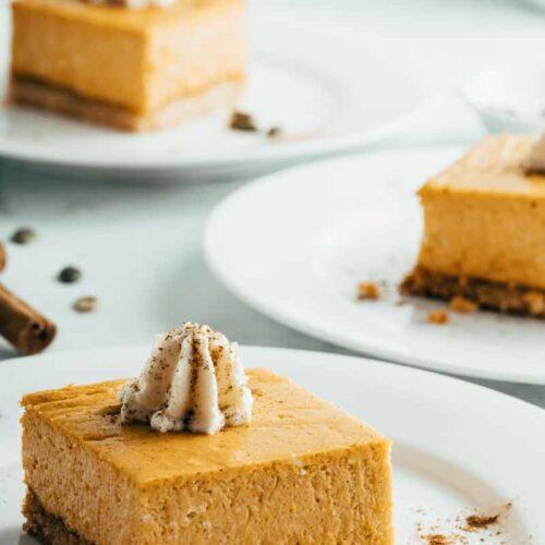 The Best Keto Pumpkin Cheesecake