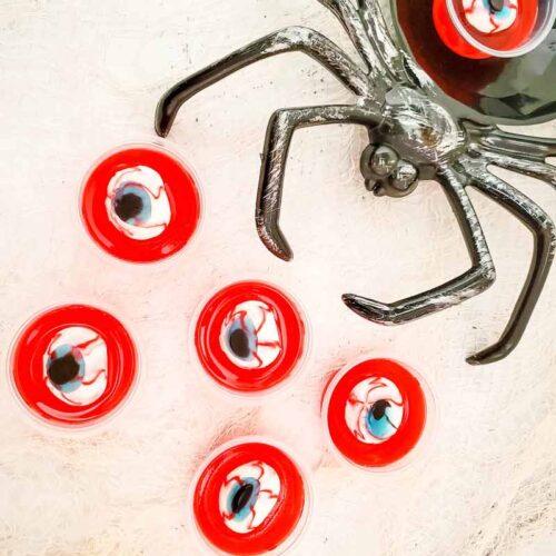 Easy Spooky Eyeball Halloween Jello Shots